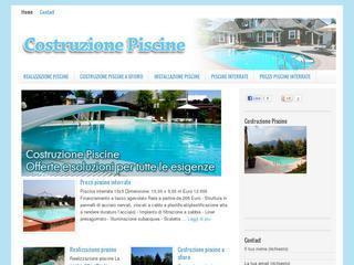 Costruzione piscine