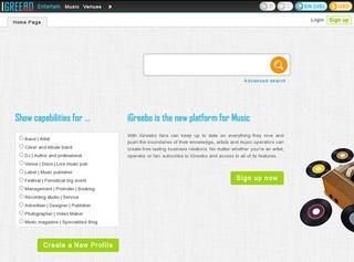 iGreebo: la piattaforma per far conoscere la tua musica