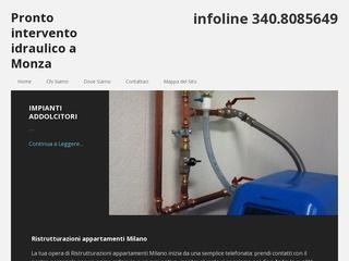 Pronto intervento idraulico Peschiera Borromeo